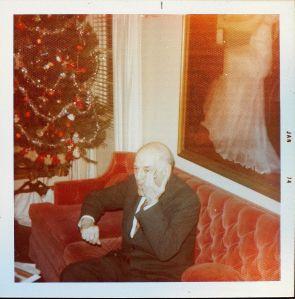 Granddaddy playing his air violin